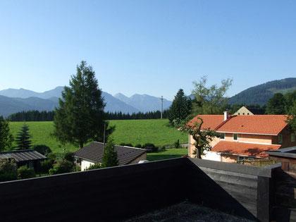 Panoramablick von der Süd-Ost-Terrasse