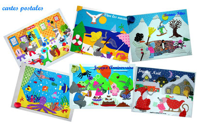 cartes postales Pat et compagnie