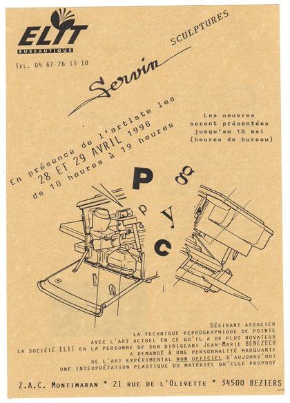 Exposition SERVIN Société ELIT Béziers