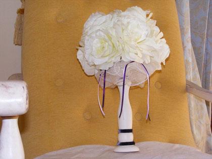 BO070 - Bomboniera - idea regalo - segnaposto - Shabby chic con rose - € 28,00