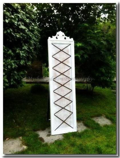 TA010  -  Tableau  de  Mariage Shabby Chic - Decorato a mano  -  misure 43 x 170 - € 130,00 - VENDUTO