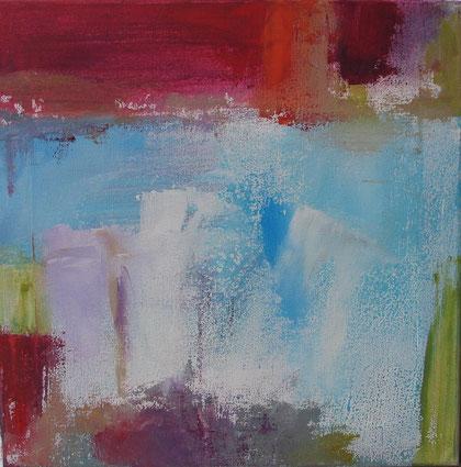 Abstrait  - mai 2012 - 40 x 40 - acrylique sur toile
