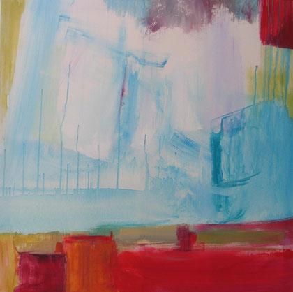 Abstrait  - mai 2012 - 80 x 80 - acrylique sur toile