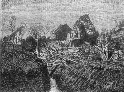 Hans am Ende: Souchez Gang in Givenchy