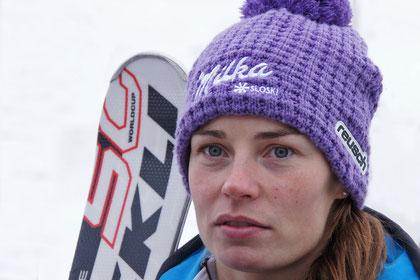 Tina Maze (SLO) schrieb Skirennsportgeschichte. Am Sonntag gewann sie zum ersten Mal einen SuperG. Damit gehört sie zu den sechs Fahrerinnen die in jeder Alpinen Disziplin mindestens einmal gewonnen haben,