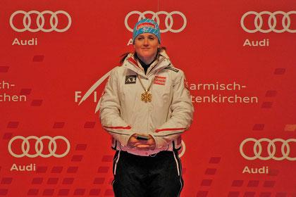 Die Weltmeisterin: Lizz Görgl (A)