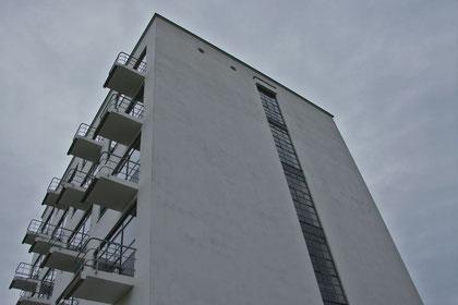 Dessau. Bauhaus - Bauhaus-Gebäude von Walter Gropius von 1925
