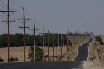 Die Great Plains ... ein ewiges leichtes auf und ab
