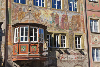 Stein am Rhein; Fassadendetail