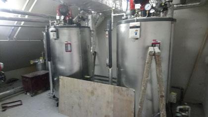興建本地啤酒廠工程, 食品工場出牌 Boiler room renovation for a local food factory/ licence application