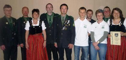 Schießabzeichen und Vereinsmeister