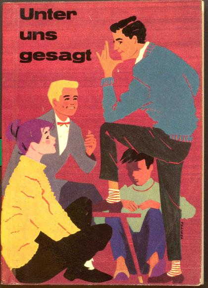Benimm Ratgeber der Sparkasse für Jugendliche (Knigge) aus den 1950er Jahren.