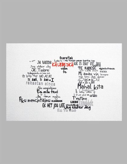 Lovin You - Kunstdruck von Formart