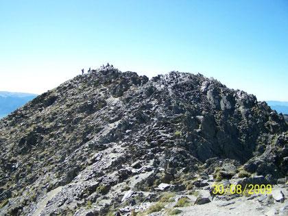 sommet du Puig Carlit