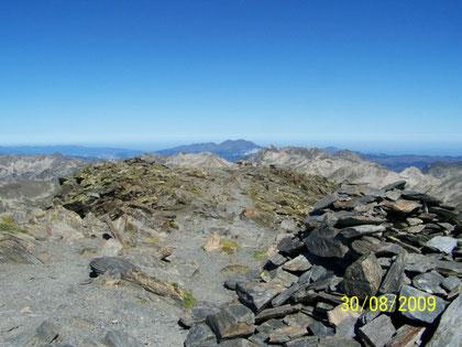 sommet du Carlit de Baix