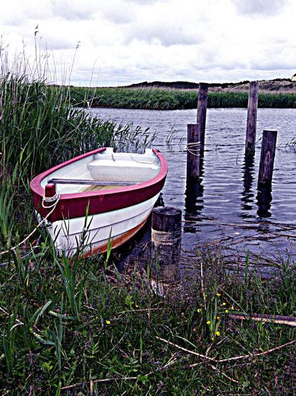 noch ein einsames Boot