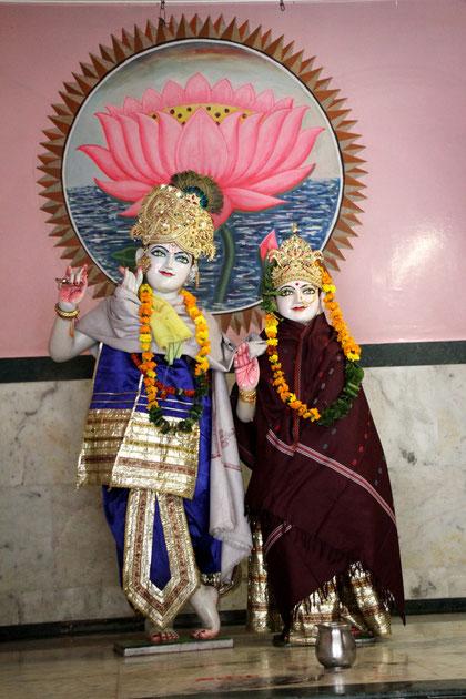 Kleiner Tempel in Dehli