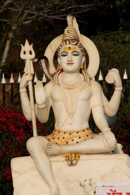 heilige Figur im Tempel