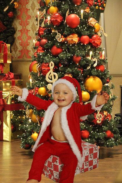 Hurra der Weihnachtsmann ist da!!!