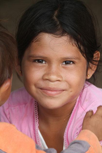 hier leben die La Poncha Indianer