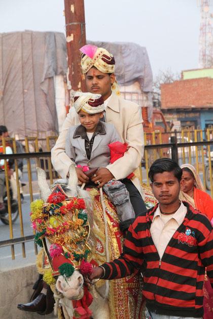 auf dem Weg zur Braut