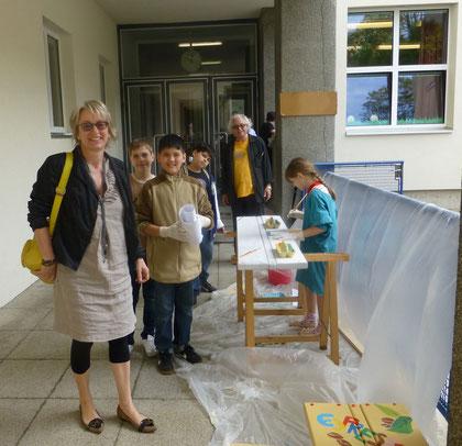 Lieber Besuch: Frau Barbara Neuroth BV Stv. von der Wieden
