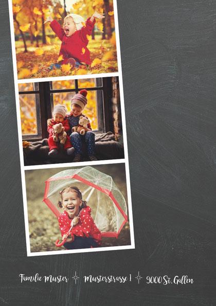 weihnachtskarten für familie