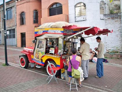 La jeep du marchand de glaces