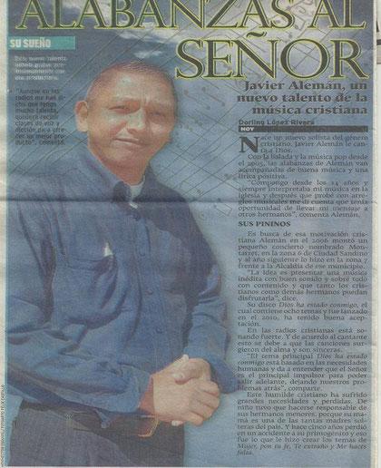 Entrevista en Periódico Hoy
