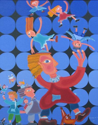 Circus, 2008, 76x 61 cm