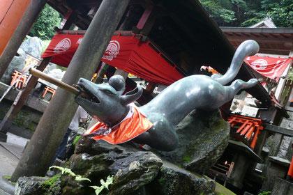 伏見稲荷神社にて