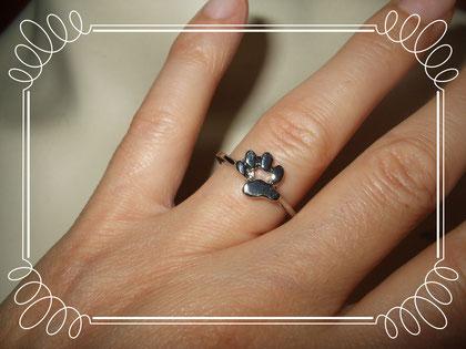 Pfötchen Ring