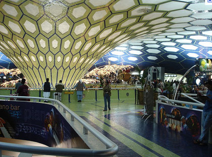 """Aéroport d'Abu Dhabi: escale aux """"mille et une nuits""""(D.R.)"""