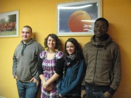 L'équipe des Orangeades (Photo M. Depecker)