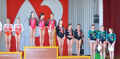 Team OPEN - 4. Platz mit Diplom