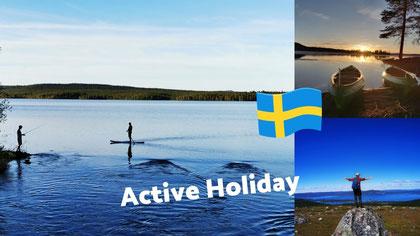 Urlaub in Lappland Aktivurlaub Aktivreise Gruppenreise in Schweden Urlaub in Schweden