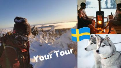 Individual Winter Holiday Lappland  Winterurlaub Lappland
