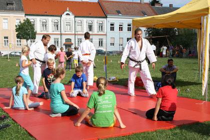 Schnuppern beim Judo Club Stockerau