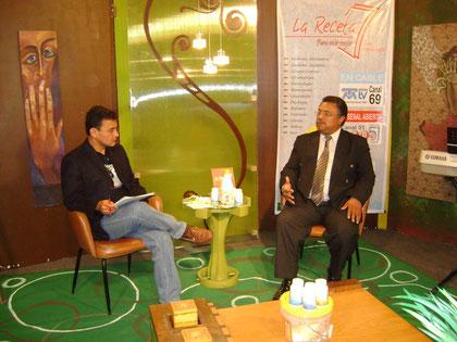 Entrevistado en Medios de Comunicación