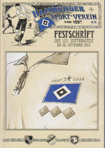 Die Festschrift zum 125ten Geburtstag des HSV
