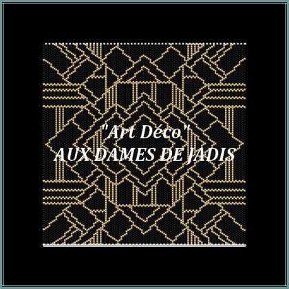 art deco-picture-pattern-tapis-tapestry-miyuki-delica-seed beads-DIY-peyote-loom-even count-instant downlaod-auxdamesdejadis.com