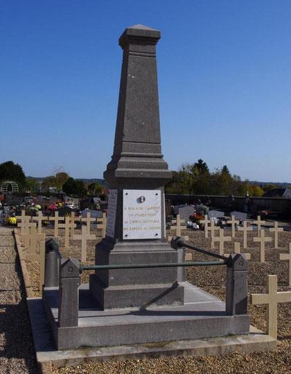 Das Grab des Fliegers Roland Garros