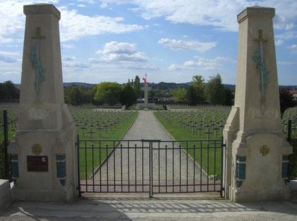 Verdun Friedhöfe Faubourg Pave