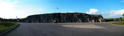 Panoramaaufnahme des Forts - Zum Vergrößern bitte anklicken