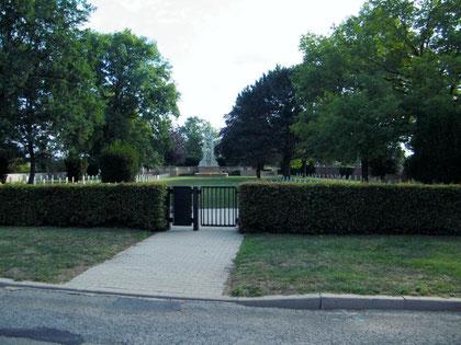 Verdun, Verdunbilder, Rene Reuter, Soldatenfriedhof Labry, 1. Weltkrieg