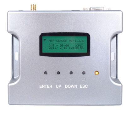 電波時計+GPS方式小型NTPサーバ