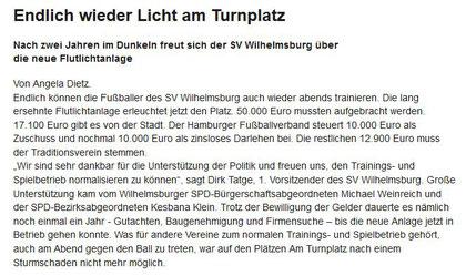 Wilhelmsburger Wochenblatt 26.04.16