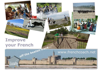 French for expats, French coach's training programme in aigues-mortes