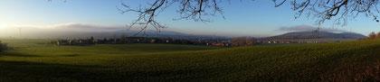 Panorama von Ebersdorf