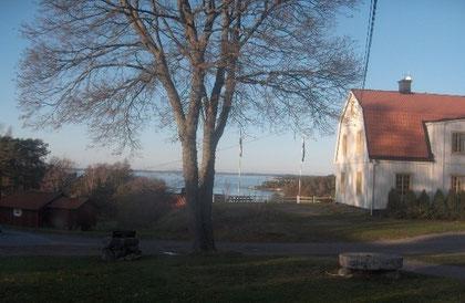 Tagungszentrum Utö Vardshüs: Blick aufs Meer